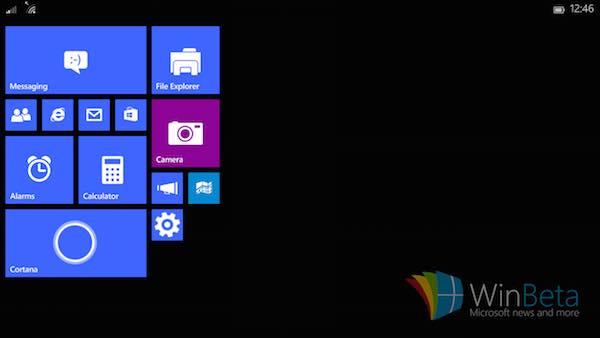 Windows 10 Petite Tablette Apercu 2