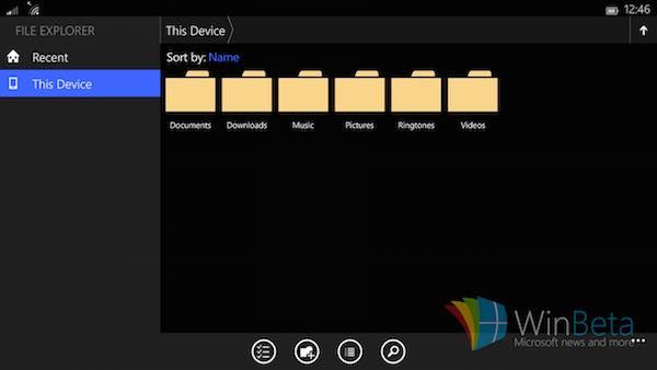 Windows 10 Petite Tablette Apercu