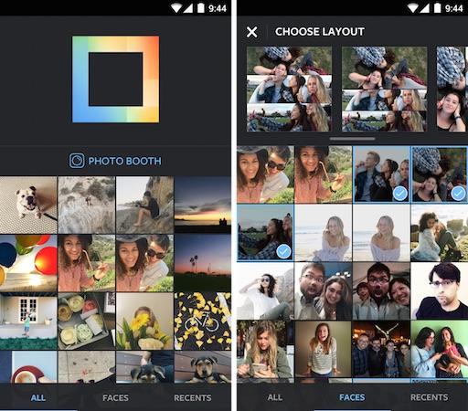 Application Layout Android