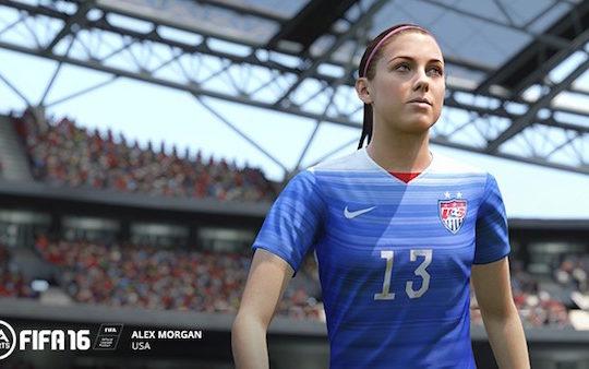 FIFA 16 Equipe Feminine