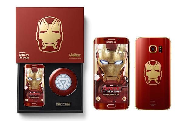 Galaxy S6 Edge Edition Iron Man