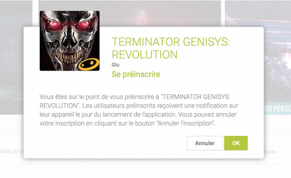 Google Play Application Android Se Preinscrire