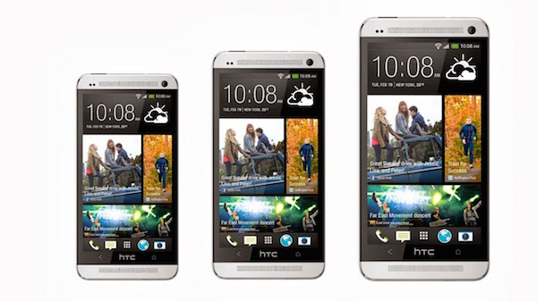 HTC One Tailles