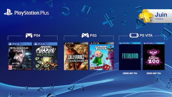PlayStation Plus Jeux Offerts Juin 2015