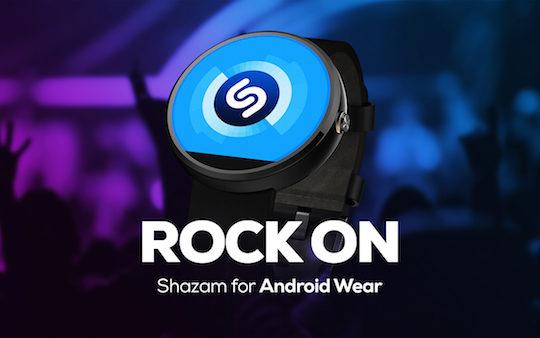Shazam Android Wear