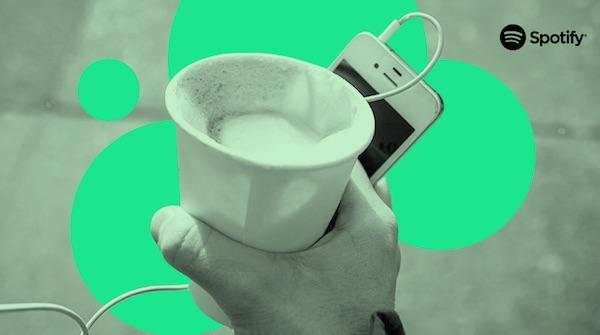 Spotify Starbucks