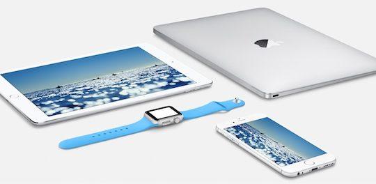 iPad iPhone 6 Apple Watch MacBook