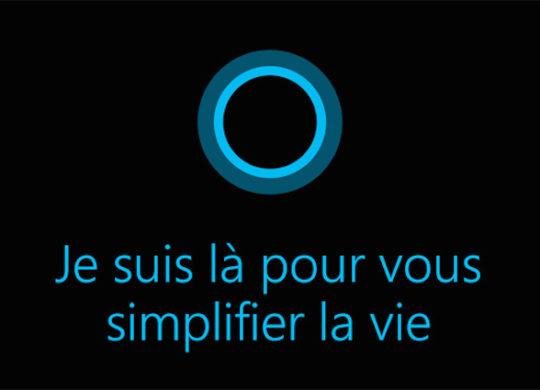 Cortana Francais