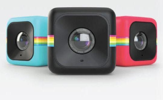 Cube+ polaroid
