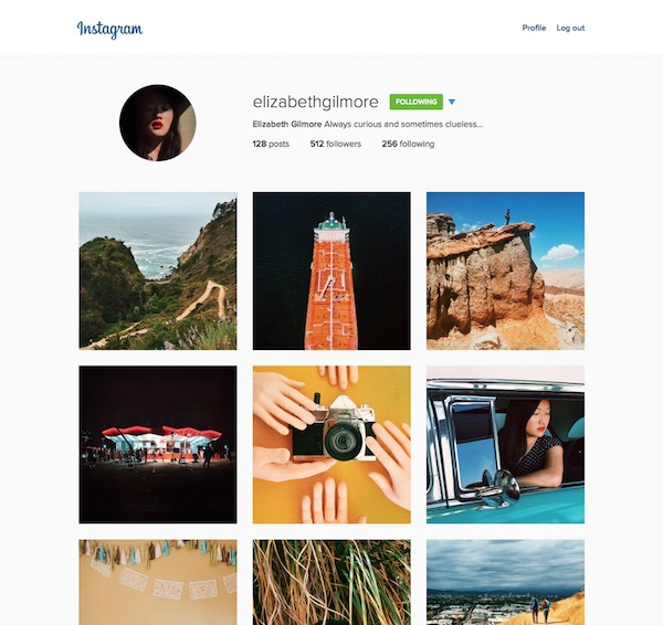 Instagram Nouvelle Interface Web