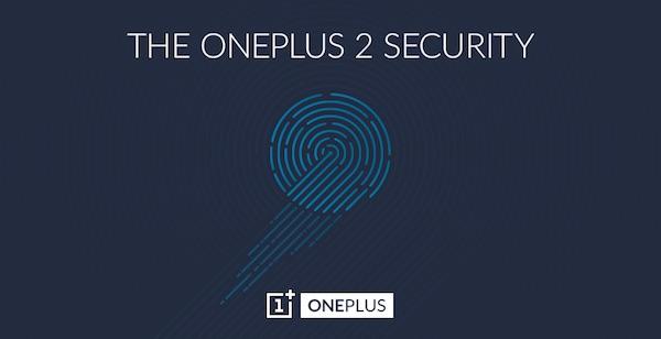 OnePlus 2 Capteur Empreintes