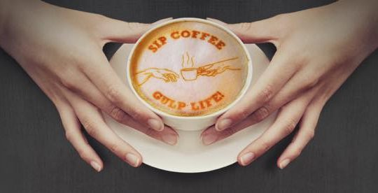 Ripple imprimante cafe
