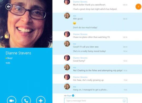 Skype Modern UI