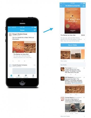 Twitter Page Produit