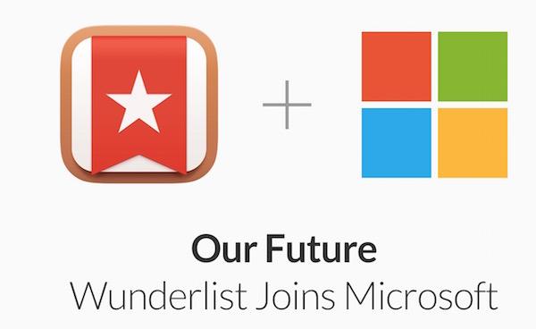 Wunderlist Microsoft