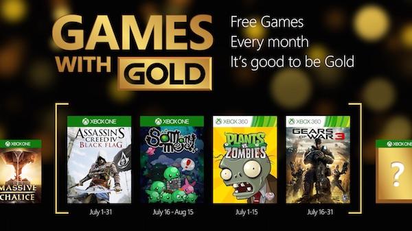 Xbox Live Jeux Offerts Juillet 2015
