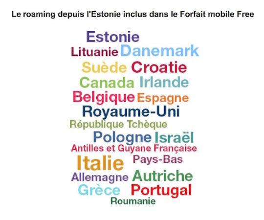free mobile estonie