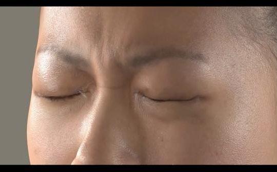 peau humaine 3D