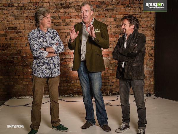 Amazon Video Jeremy Clarkson, Richard Hammond James May