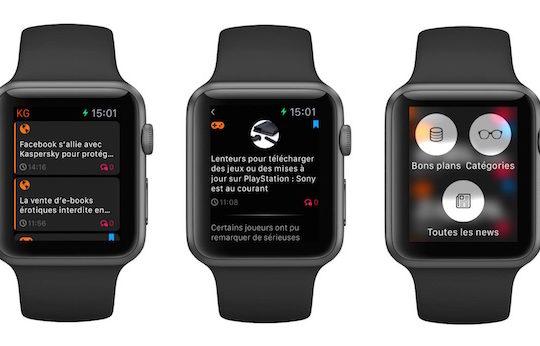 KultureGeek Application Apple Watch