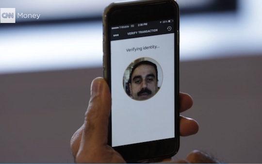 MasterCard Paiement Reconnaissance Faciale