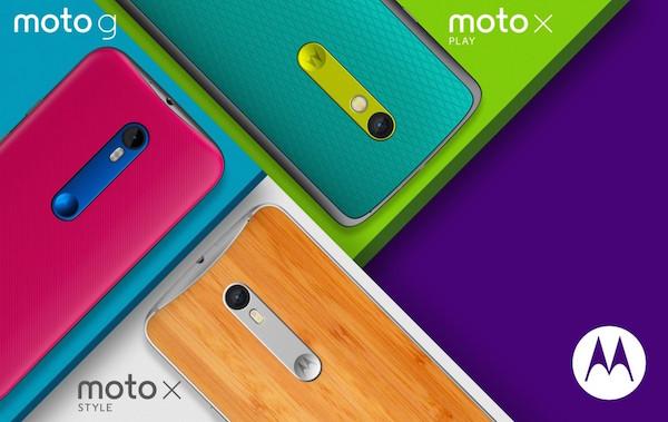 Moto G Moto X Play Moto X Style