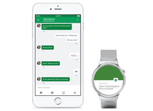 Android Wear iPhone iOS
