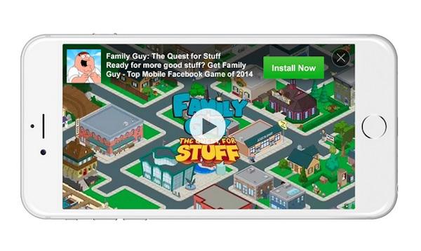 Facebook Audience Network Publicite Video