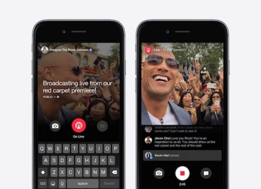 Facebook Mentions Video Direct