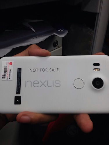Fuite Nexus 5 2015