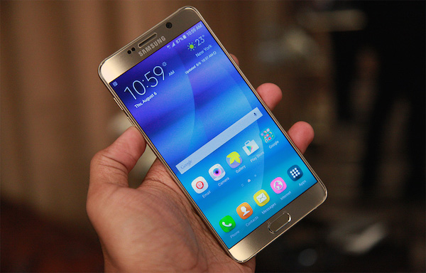 Galaxy Note 5 Officiel