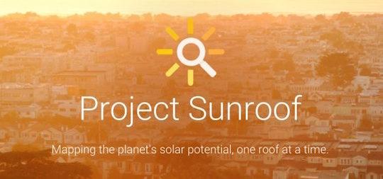 Google Projet Sunroof