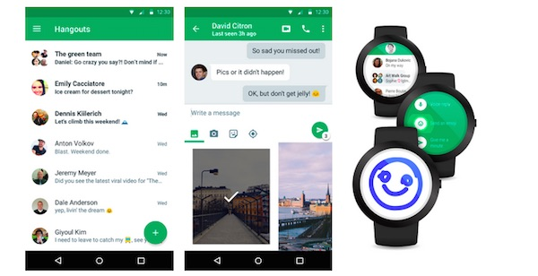 Hangouts 4.0 Application Android