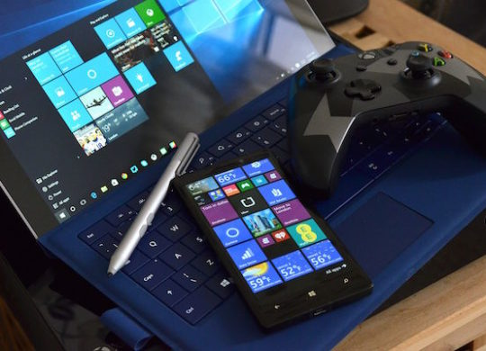 Surface Manette Xbox Lumia