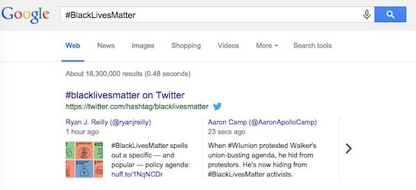 Twitter Tweet Resultat Recherche Google