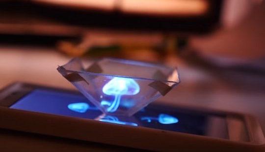 smartphone-projecteur-holographique-3D