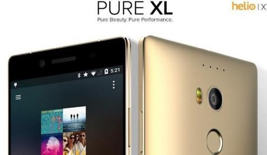 Blu pure XL windows