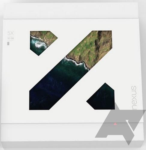 Boite Nexus 5X Fuite