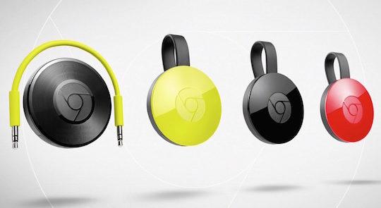 Chromecast 2 Chromecast Audio