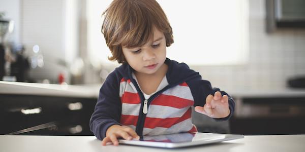 Enfant iPad