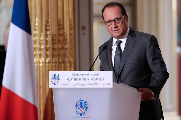 Francois Hollande Conference de Presse