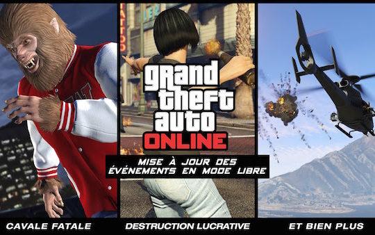 GTA 5 Mise  A jour Evenements Libre