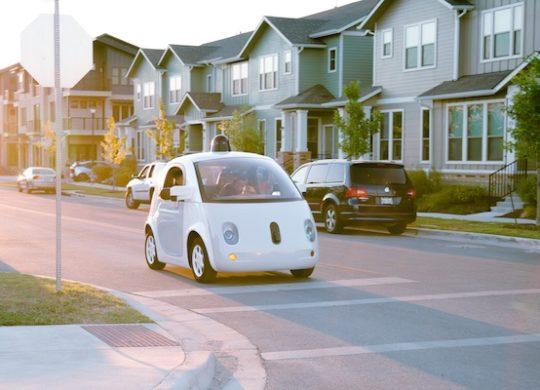 Google Car Voiture Google