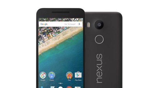 Nexus 5X Avant Arriere