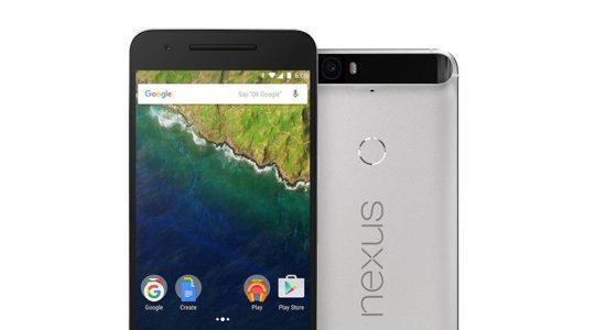 Nexus 6P Avant Arriere