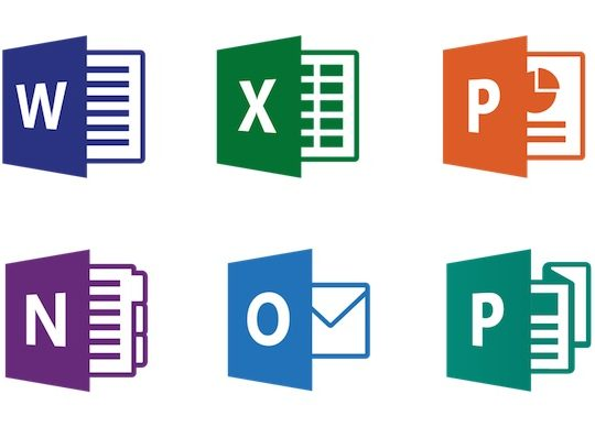 Office Word Excel PowerPoint Outlook
