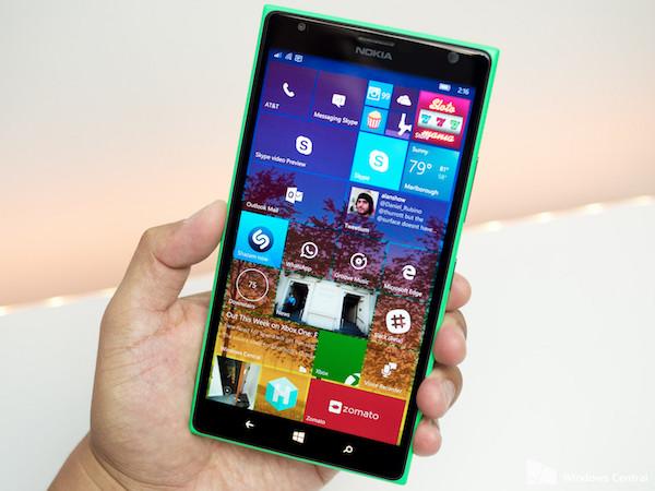 Lumia 1520 Windows 10 Mobile