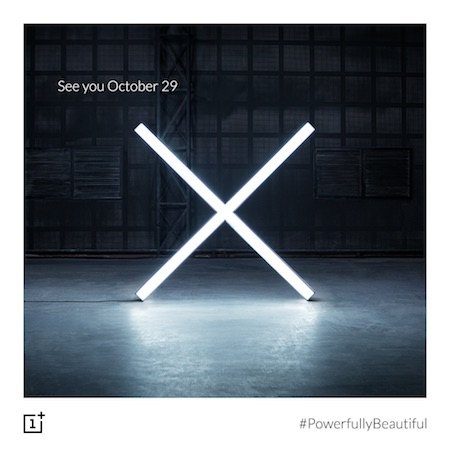 OnePlus Invitation 29 Octobre 2015