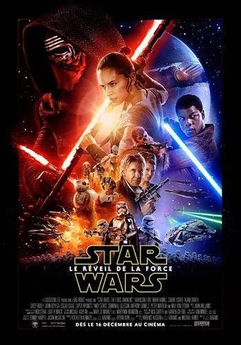 Star Wars Le Reveil de la Force Affiche Francaise