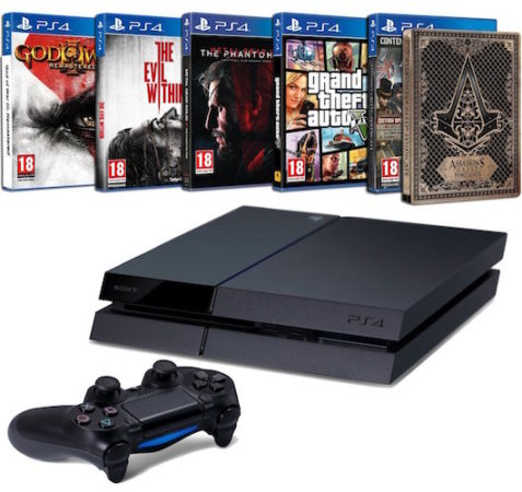 Amazon Pack PS4 5 Jeux Cyber Monday 477x450